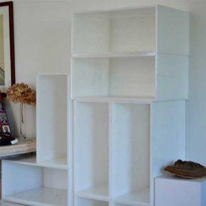 Cubes plexiglas opale composition armoire à chaussures, rangements de placards, chaussures e bottes, n'importe quoi, mais surtout de tout!