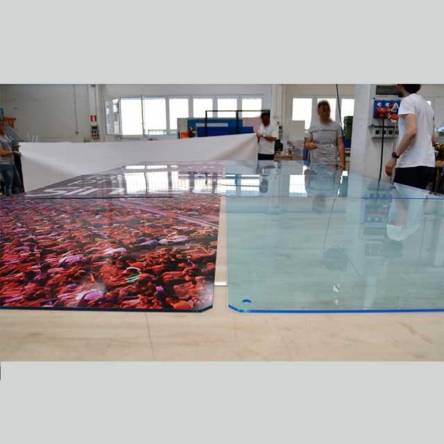 pannelli plexiglass stampati composizione per stand 2