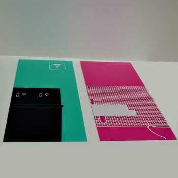 Stampa grand format sur plexiglass pré-foré pour montage