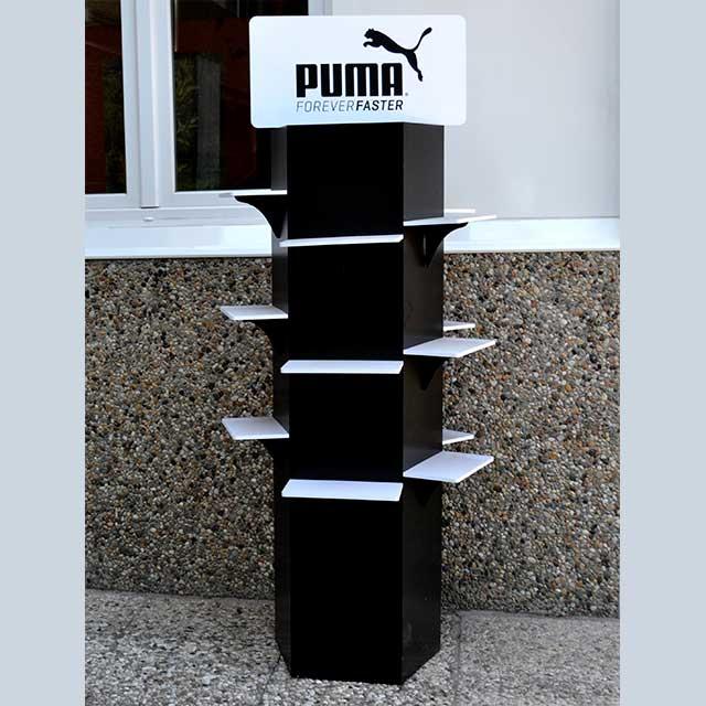 totem porta scarpa pvc nero Puma