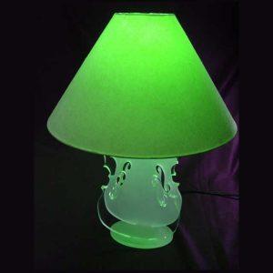 Lampe design plexiglass forme violon