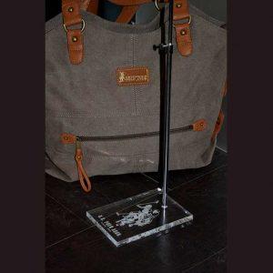 Espositore borse in plexiglass U.S.POLO