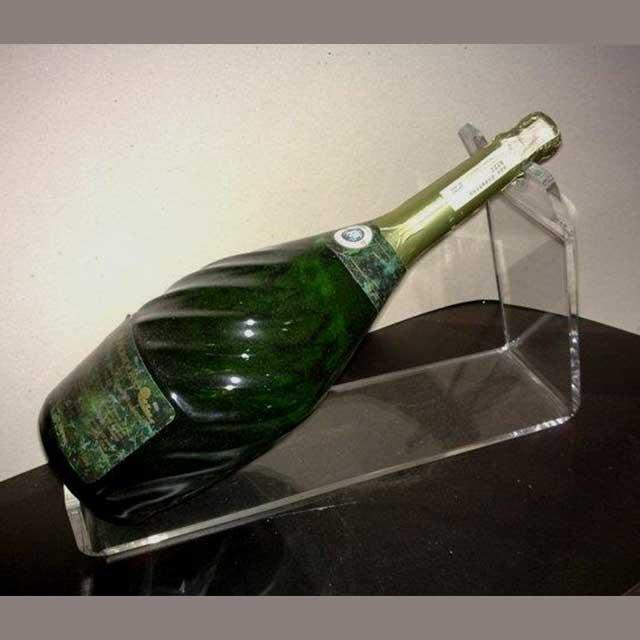 porta bottiglie plexiglass per tavolo evento