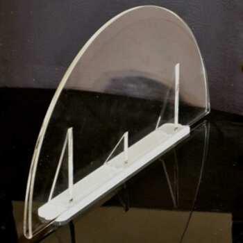 portadepliant plexiglass mezzaluna Granvision offerte speciali