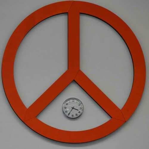 sagoma polistirolo simbolo pace diam 250 cm