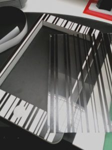 PVC Light travail de reproduction IPhone et impression