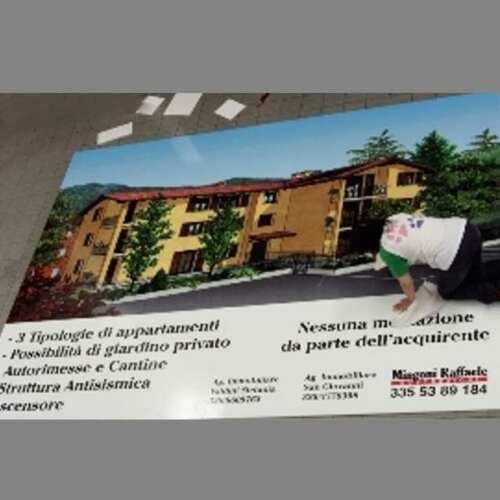 Impression sur PVC pour extèrieur promotion immobilière