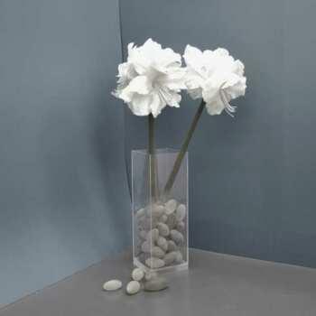 Vase de sol plexiglas à fond épais stable