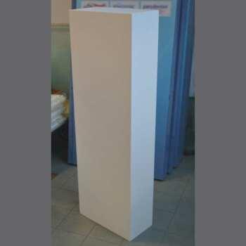 colonne piedistallo PVC bianco espositore per borse PQuadro 1