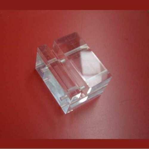 Morsa plexiglass trasparente a blocchetto