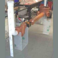 Espositore plexiglass a braccetti per industria
