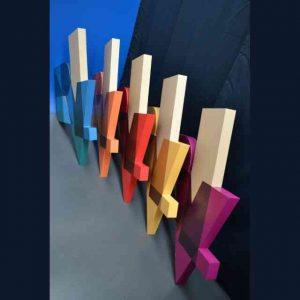 Insegne PVC scatolato e PVC adesivo colorato