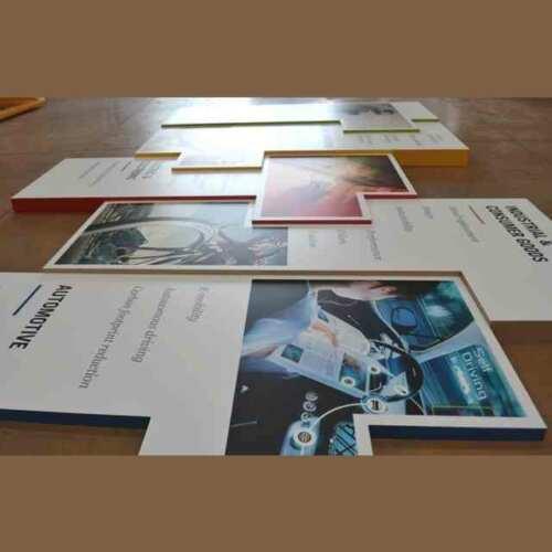 Pannelli PVC scatolati a puzzle con stampa per stand