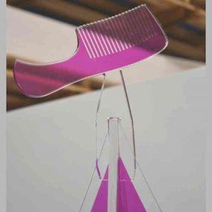 Puntale Albero di Natale plexiglass a pettine