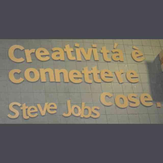 Scritte Legno fresato per pareti negozi citazione
