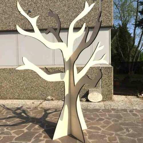 Albero in legno multistrato taglio laser 3D