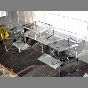 tavoli plexiglass espositivi per vetrina varie dimensioni