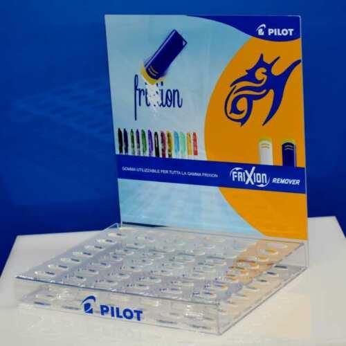 Espositore plexiglass cancelleria Frixion Pilot