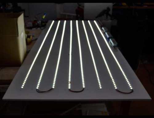 Les Leds pour l'éclairage du plexiglass
