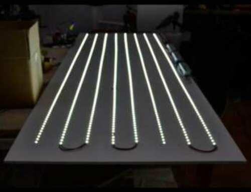 Leds pour illuminer le plexiglass
