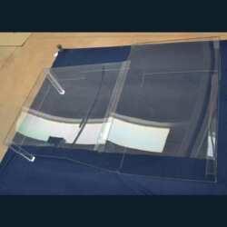 Teca sagomata policarbonato per macchine utensili