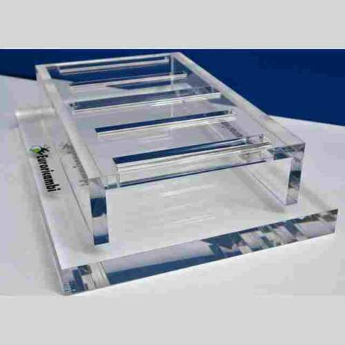 Espositore plexiglass da banco 20 mm