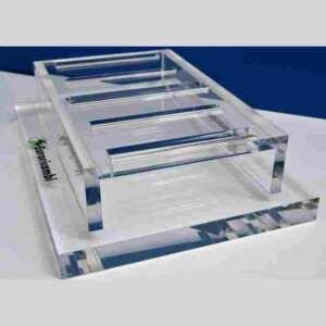 Espositore plexiglass da banco 20 mm