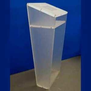 Porta IPAD plexiglass satinato cm 145