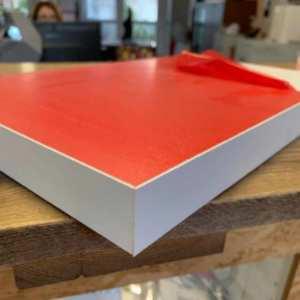 Pannelli PVC light rigidi 4 cm con bordo bianco