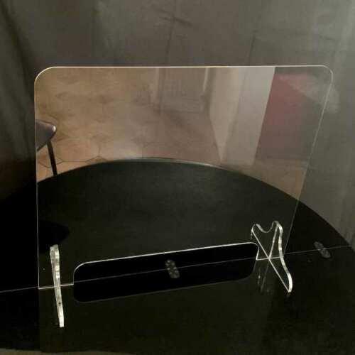 Parafiato plexiglass protezione per reception