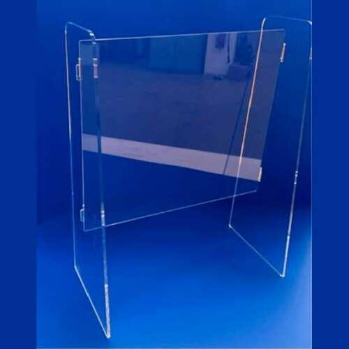 Parafiato plexiglass smontabile modello poste italiane