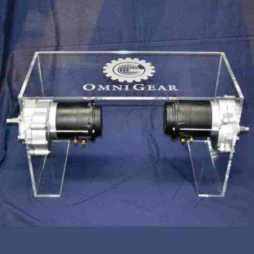 Espositore per pezzi meccanici in plexiglass 8 mm trasparente
